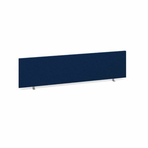 Straight Desk Top Privacy Screen 1600 x 400 Blue