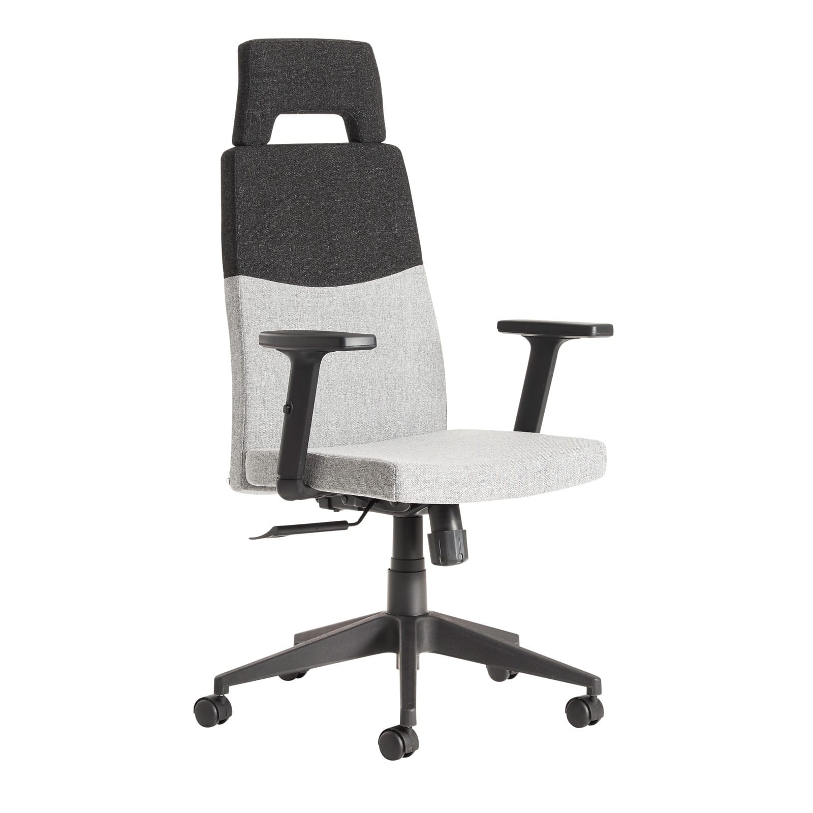 charcoal serta haylie office elle black fuchsia white collection grey pin style chair