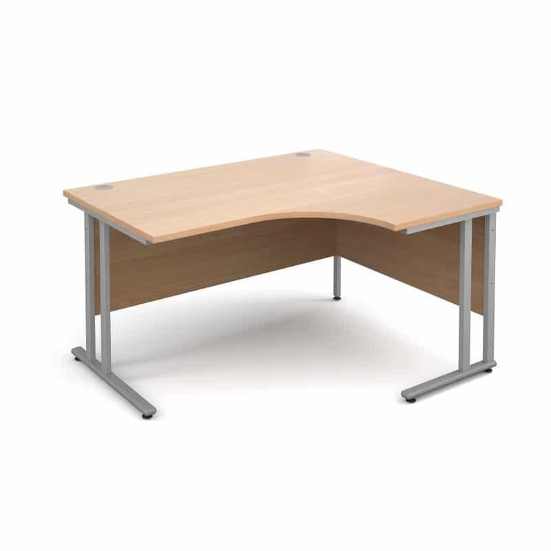 Charmant Beech Corner Desks