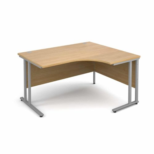 Right Hand Corner Desk in Oak 1400mm