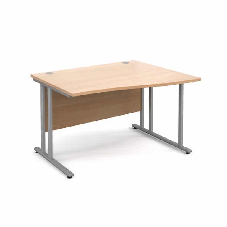 Beech Wave Desks