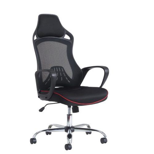 Andretti high back Mesh Task & Operators chair - Black