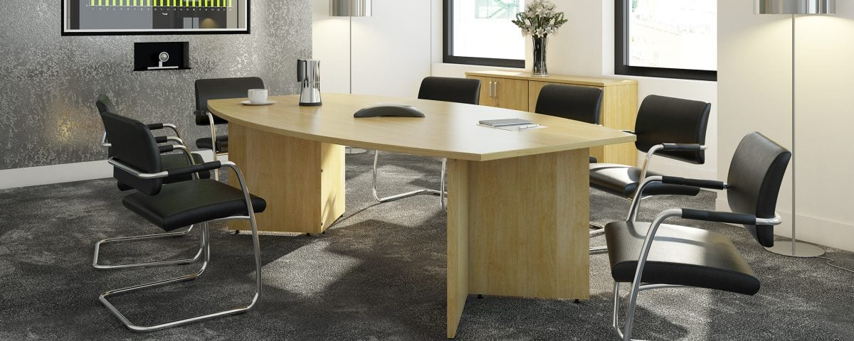 Maple Rectangular Boardroom Tables-Arrow-head