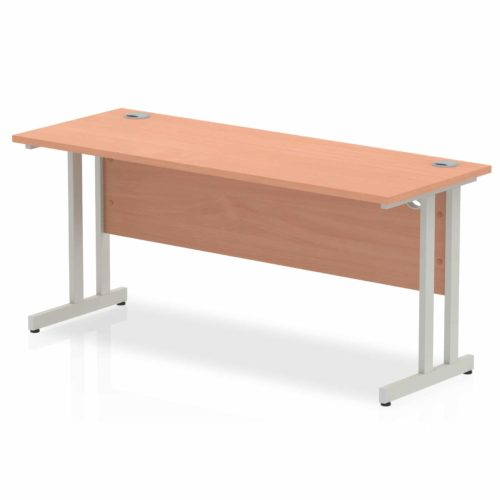 Slimline Office Desks Beech