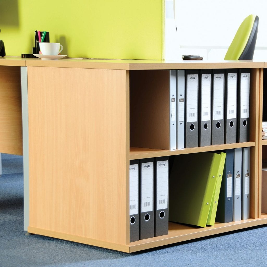 Beech Office Storage - Shelving Unit / Bookcase. Office Room Refresh