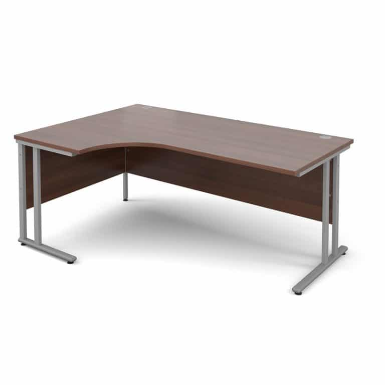 Walnut Ergonomic 1800mm Left Hand Corner Office Desk Computer Table-0