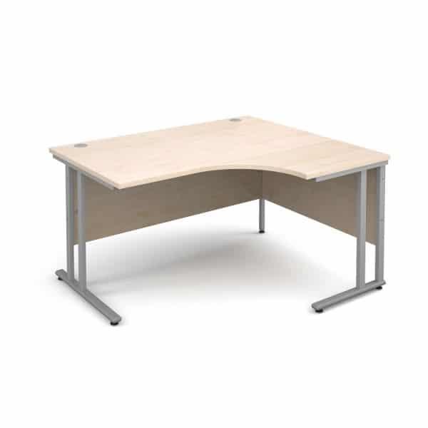 Maple 1800mm Right Hand Ergonomic Corner Desk-0