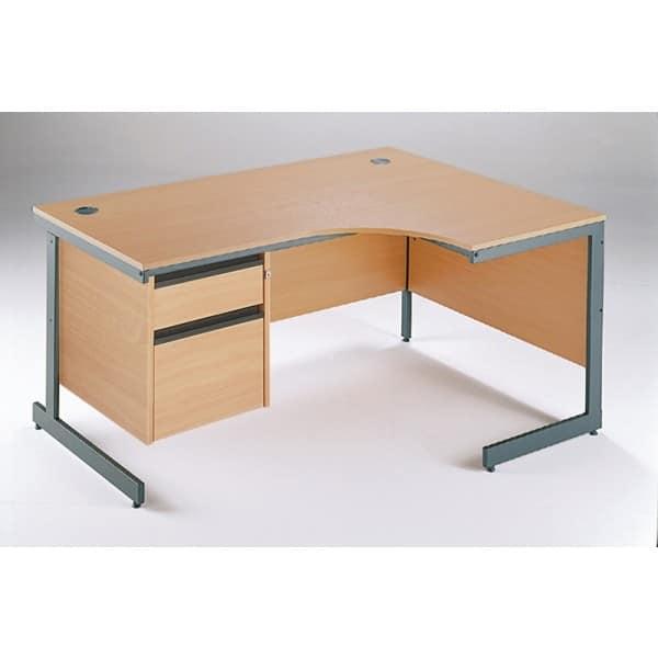 Maestro Cantilever Left Hand Desk