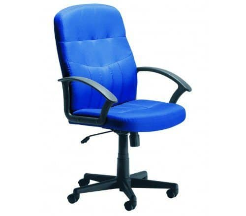 Cavalier Fabric Manager Chair By Ready Office - Height: 1010-1100 MM; Width: 620 MM; Depth: 700 MM - Color: Charcoal